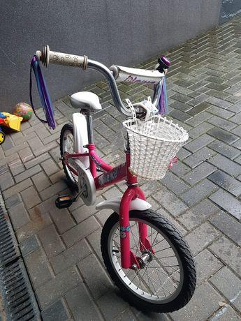 Rower Unibike Daisy 16 kola dla dziewczynki