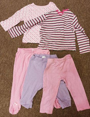 Футболки та штані для дівчинки