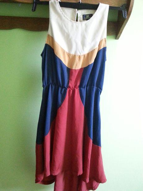 Sukienka PD.śliczna.ma cudne kolory.na żywo ładniejsza