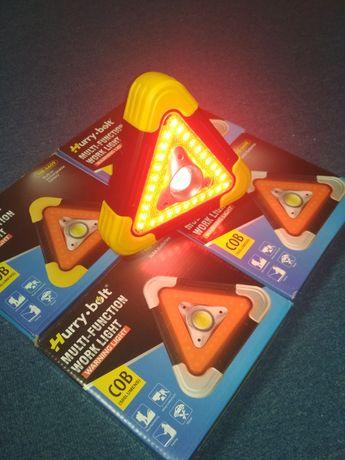 Многофункциональный фонарь-прожектор с аварийной подсветкой Hurry-bolt