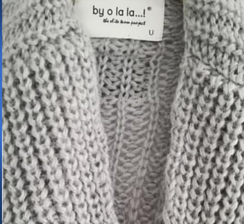 By o la la sweter jak nowy szary moher