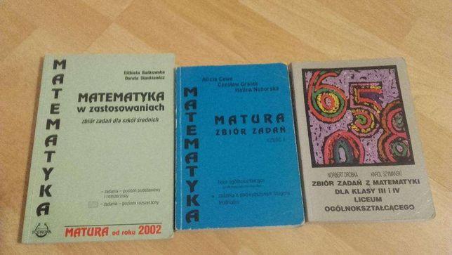 zbiór zadań z matematyki dla LO, technikum, matura, matematyka