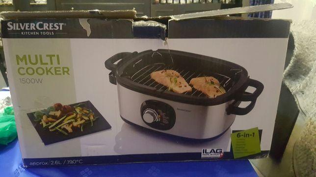 Multimedia Cooker SilverCrest . Wielofunkcyjne urządzenie do gotowania