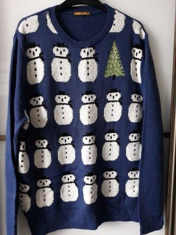 свитер новогодний мужской р. XL