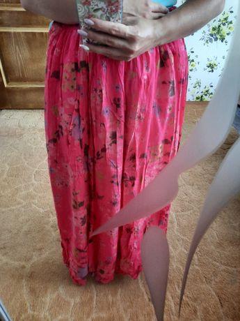 Легка літня юбка