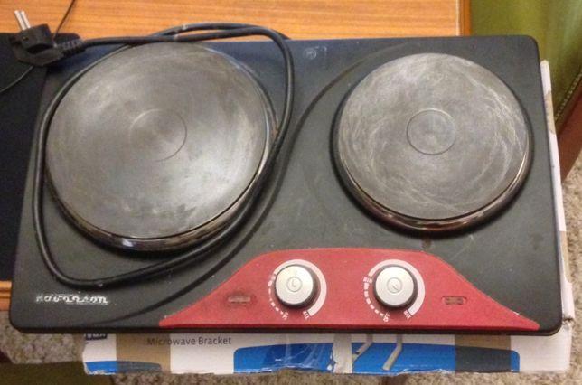 kuchenka elektryczna Ravanson hp-7020b 2 palniki