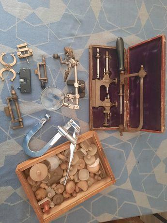 lote ferramentas relojoeiro (omega cauny relogio de bolso longines)