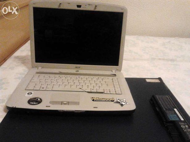Portátil Acer Aspire 5520 Inteiro/Peças a funcionar