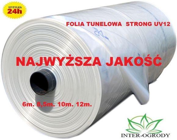 Folia tunelowa,szklarniowa,folie.szklarnia,tunele Ultra Strong UV12 6m