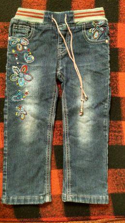 джинсы утепленные 98, 110 размер