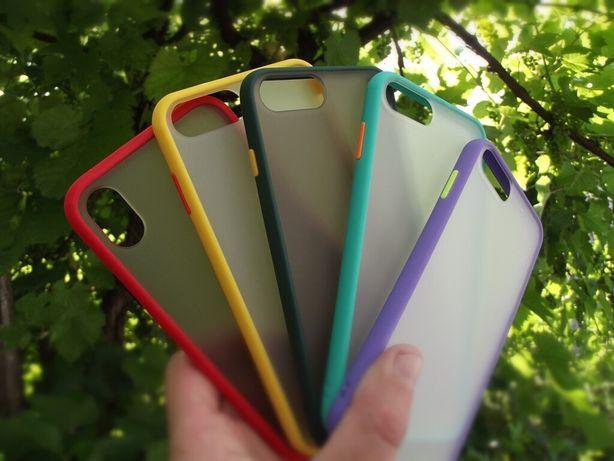Противоударный Чехол на айфон 6/6s 7/7+ 8/8+ X XR XS iPhone бампер