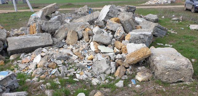 Строительный мусор, блоки бесплатно