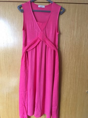 vestido rosa tintoretto
