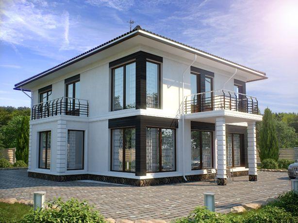 Строительство 200$ м2. домов, коттеджей под заказ