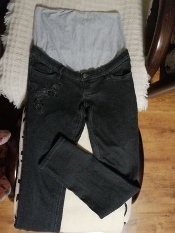 Spodnie ciążowe, czarne, rozm. M, Bonprix