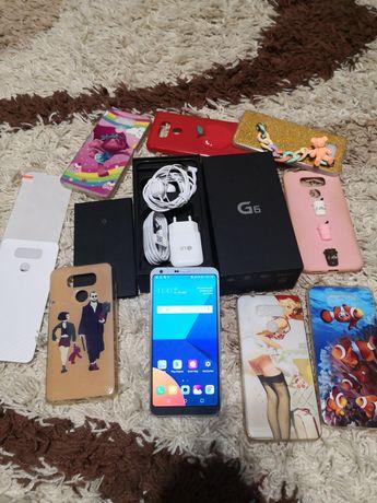 LG G6 H873 4/32GB Silver   С шикарным комплектом