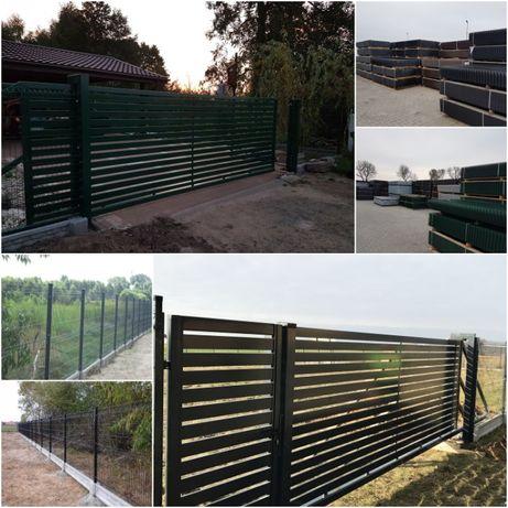 Ogrodzenia panelowe + podmurówka + montaż. ogrodzenia PROMOCJA ZAPRASZ