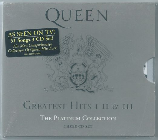 Queen - Greatest Hits I II & III 3xCD NOWA FOLIA