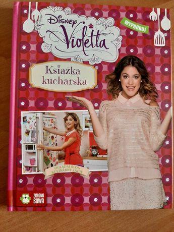 Disney Violetta książka kucharska
