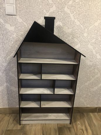 Domek drewniany,domek dla lalek
