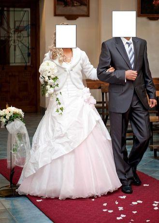 Biała suknia ślubna rozm 38 M