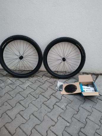 Conjunto btt rodas com peneus michelin cassete e corrente