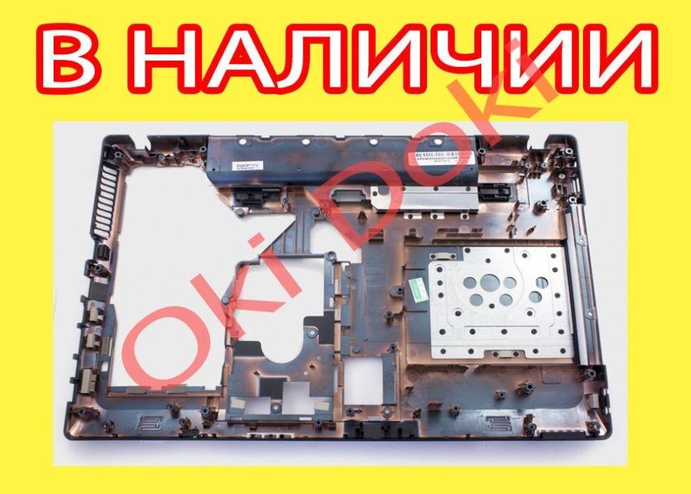 Корыто Lenovo с hdmi и без Нижний корпус поддон g570 Леново g575 A E G Харьков - изображение 1