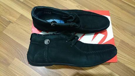 Ботинки зимние мужские замша 43р черевики зимові чоловічі замш 43р