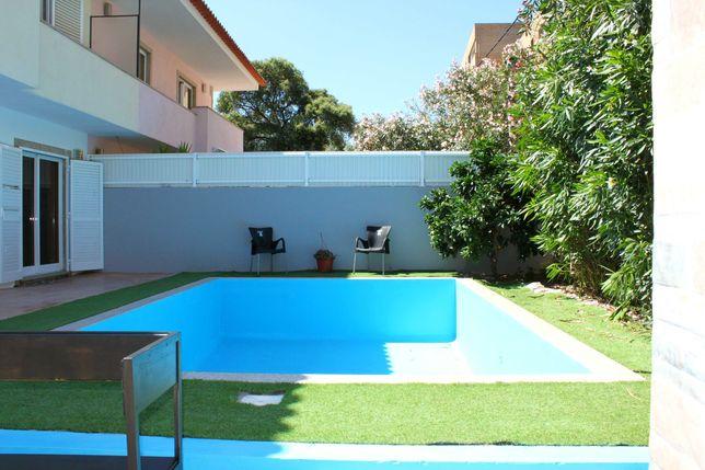 Moradia c/piscina e vistas, capacidade 12 pessoas