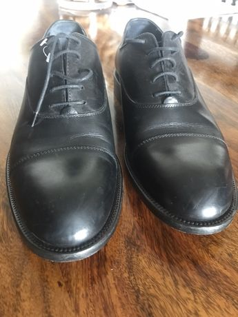 Eleganckie męskie buty wloskie, hand made, nowe, 44