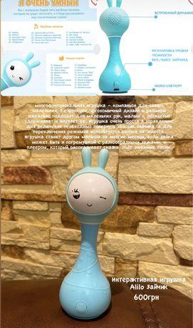 Інтерактивна іграшка Alilo Зайчик