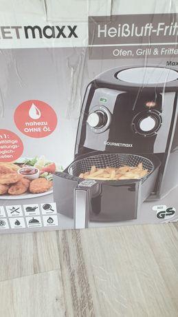 Gourmetmaxx  nowa   Frytkownica na gorące powietrze beztłuszczowa 8w 1