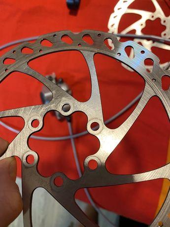 тормозные велосипедные роторы HAYES 160мм