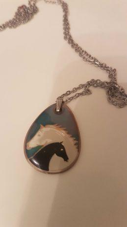 Naszyjnik, łańcuszek koń-wysyłka w cenie