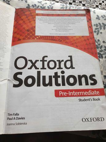 J. Angielski Oxford Solutions kl. II technikum i liceum