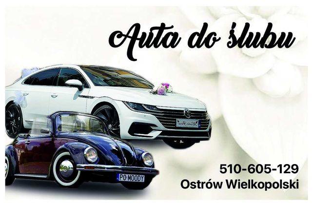 auto do ślubu, wesele, do wynajęcia wynajmę VW Arteon VW Garbus kabrio