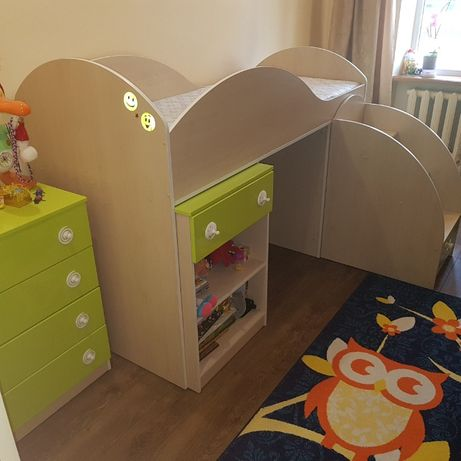 Дитяча кімната - Мауглі (лайм)