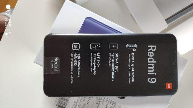 Xiaomi Redmi 9 Carbon Grey NFC 4GB RAM 64GB ROM NOWY! 24 miesiące GW