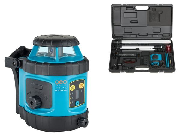 Niwelator laserowy EL 515 Plus zestaw R21-maxi box Geo Fennel