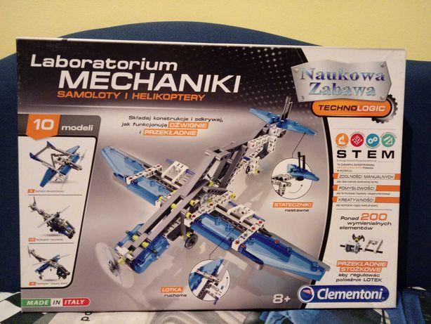 Laboratorium Mechniki Samoloty Helikoptery klocki Lego Technic komplet