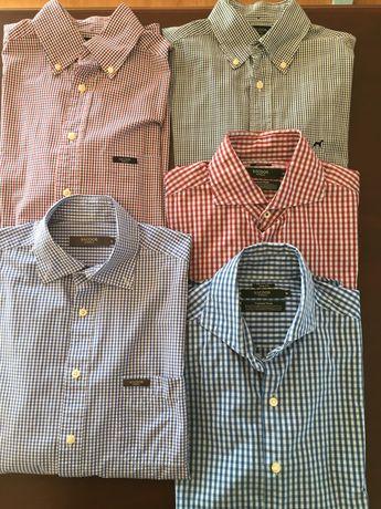 5 Camisas Sacoor Tam. M e L (12€ x 5 und) Nunca Usadas
