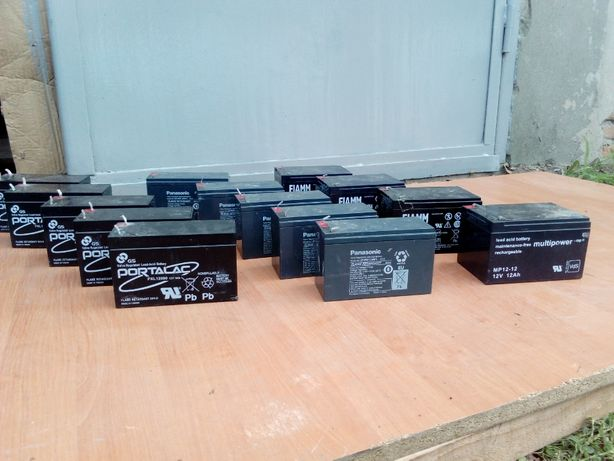 Аккумуляторы б/у, аккумуляторные батареи* АКБ с Германии