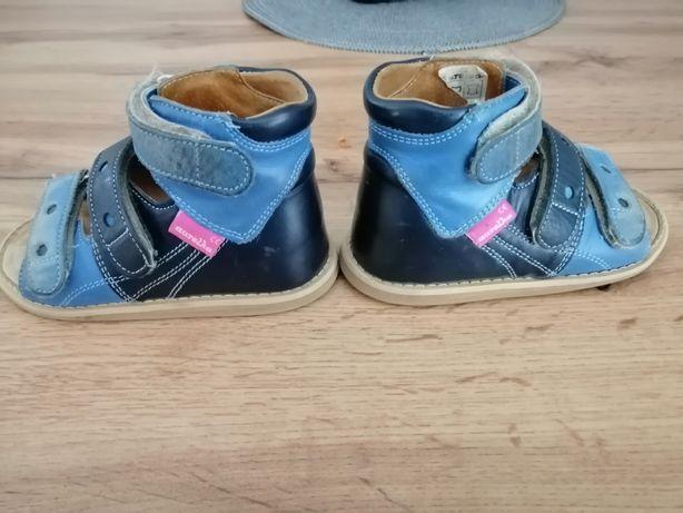Buciki Aurelka sandałki