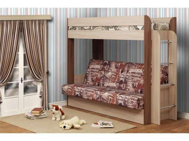 Кровать чердак с диваном. Приобретайте непосредственно у производителя