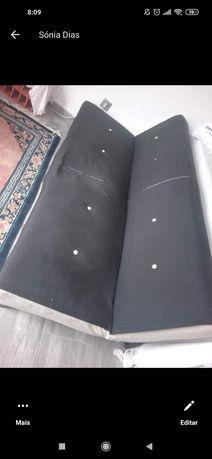 Sofá cama formato livro