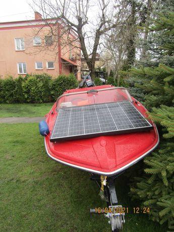 motorówka łódka Cameo spalinowo elektryczna fotovoltaiczna