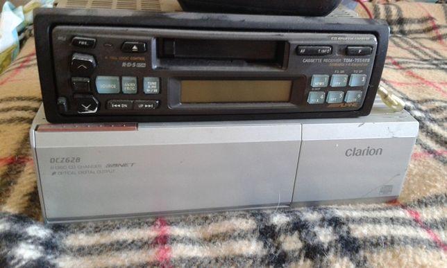 Clarion,radio com caixa de cds