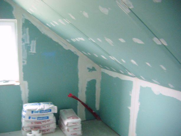 Szpachlowanie | Malowanie | Zabudowy płytą K/G