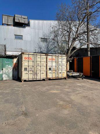 Склад Одесса. Контейнер 20, 40 футов под склад и хранение.