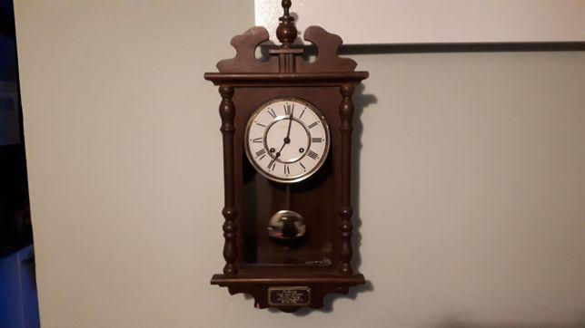Piękny stary zgrabny zegar wiszący ścienny  HERMLE Galeria Sztuki
